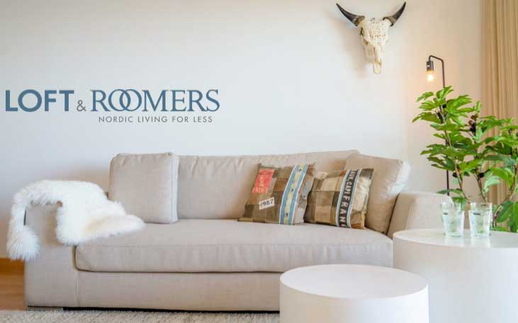 LOFT & Roomers | Nordic living for less hero image