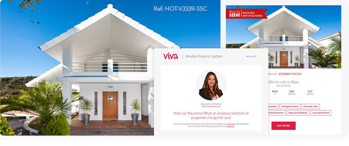 Weekly Property Update and Latest News - The hottest properties on the Costa del Sol in your email hero image